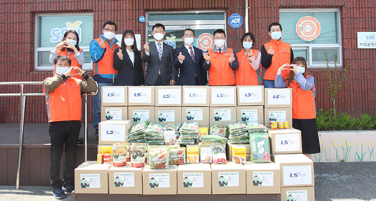 Foodbag support in Sejong City